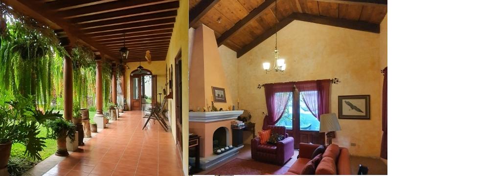 Preciosa casa en condominio exclusivo a poca distancia del casco de La Antigua Guatemala